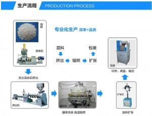 11热缩管生产流程第一步